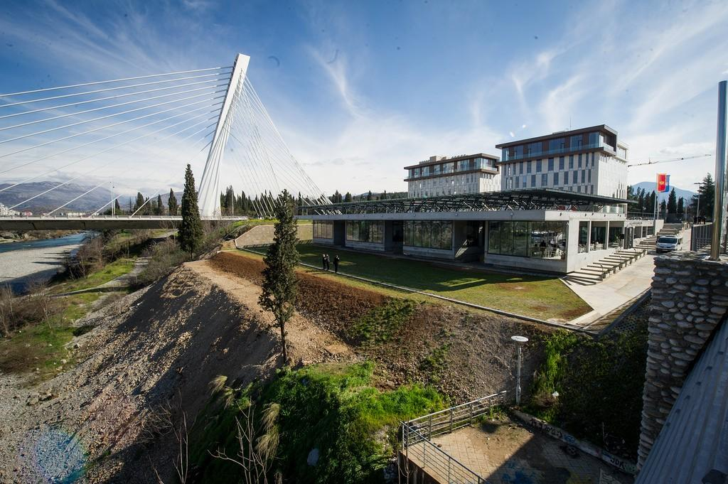 Andivi in UN Eco Building, Podgorica