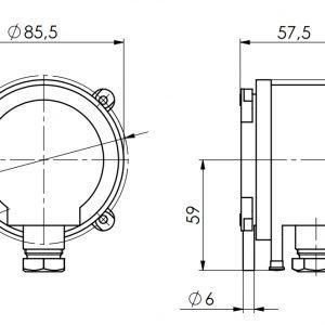 Javljalnik diferencialnega tlaka-ANDDDW-2