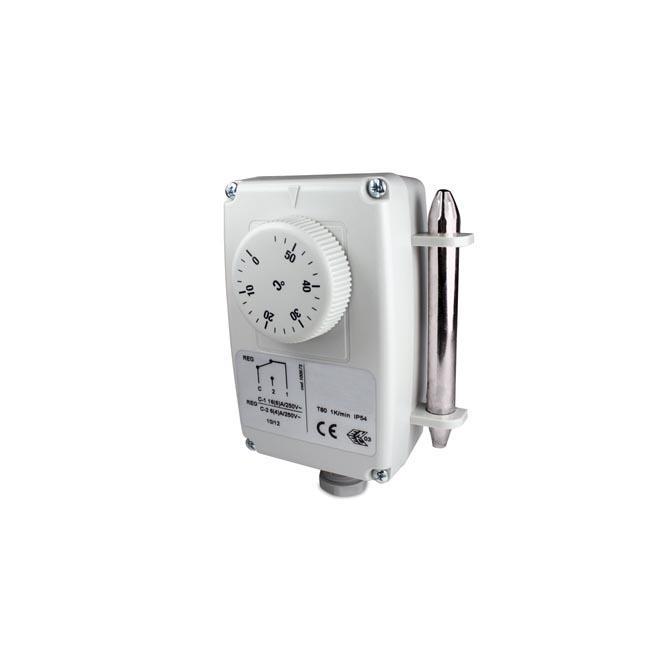 Potopni termostat z oddaljeno sondo, enostopenjski-ANDKTTH1-1
