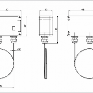 Protizmrzovalni termostat-ANDFST-0,6-2