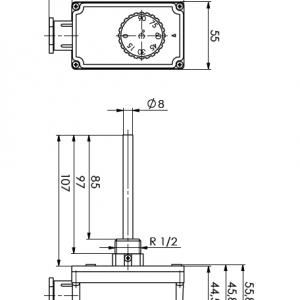 Regulacijski termostat - ANDTTH 1