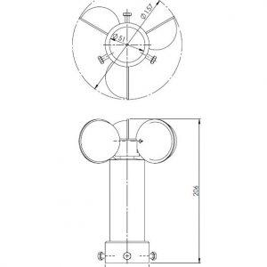 Senzor za veter ANDWM1-2