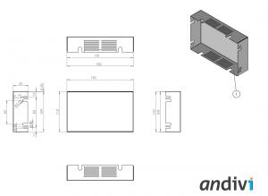 Ohisje za zaslon na dotik_touchscreen_Ploska namestitev dimenzije