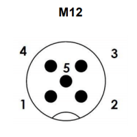 Elektricni prikljucek M12 - 5 PIN
