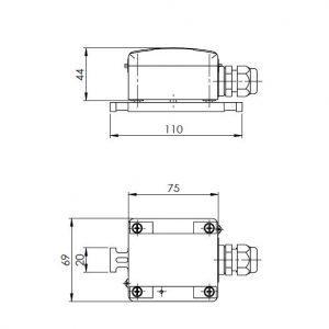 Javljalnik kondenzacije ANDKDW-1