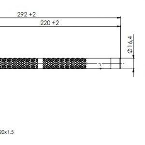 Kanalski higrostat za notranjo ali zunanjo postavitev- ANDKHY-2