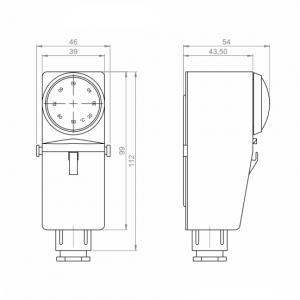 Naležni termostat za zunanjo postavitev_ANDANTH3