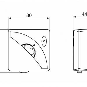 Prostorski termostat-ANDRTH1-2