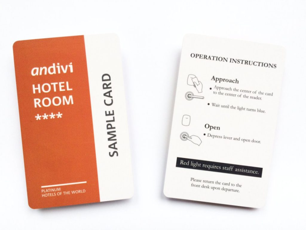 Andivi_Hotelska kartica_brezsticna kartica_primer