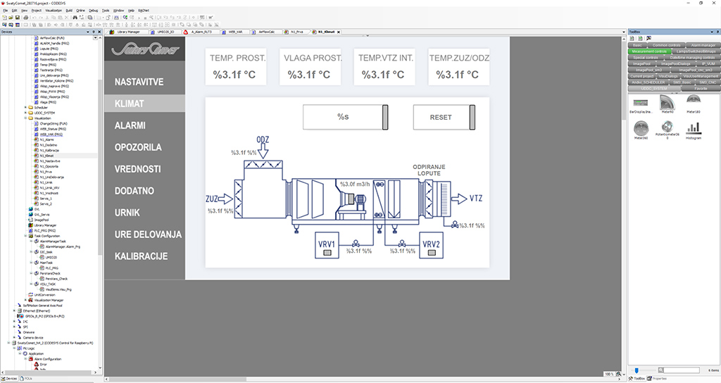 U-DDC-codesys-example-of-programing-of-graphical-interface-for-AC-unit