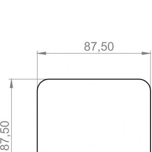 Modbus tehnicna slika za prostorsko tipalo za ogljikov dioksid in merjenje temperature ANDRACO2-MD