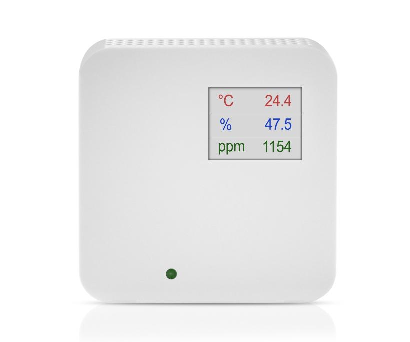 Notranji senzor kvalitete zraka ANDRALQ z LED ekranom
