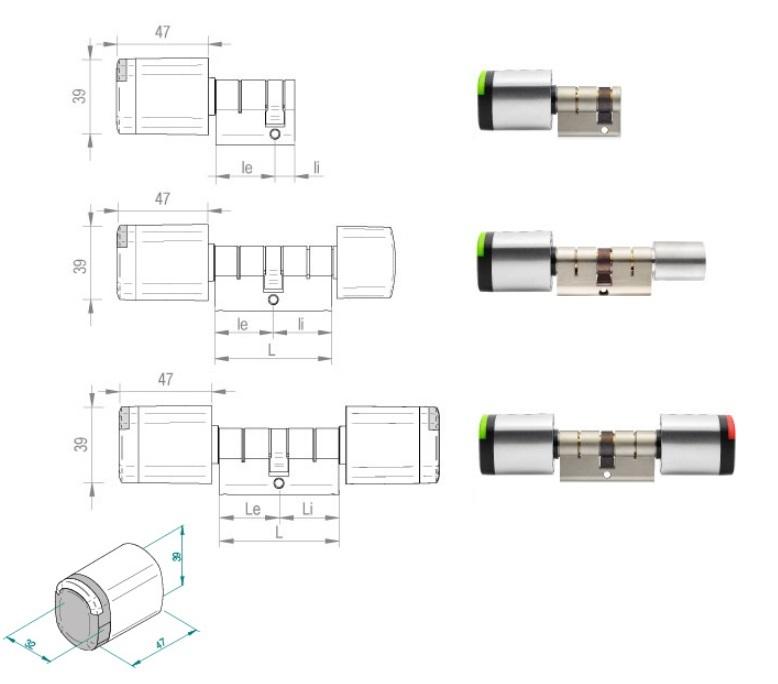Salto Neo tehnična skica
